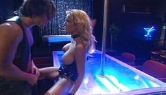 Busty Light-haired Trina Gives An Enthuiastic Blowjob To A Big Dick