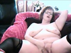 Hot Granny Webcam Teasing