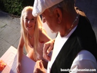 Kira Hot Blonde, Old Man