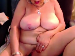 Classy Blonde Mature Mom With 38dd Huge Boobs
