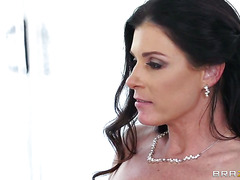 Extremely Hot Chocolate Woman Diamond Jackson & India Summer With Massive Tits Gets Boned To Death By Horny Man In Interracial Action