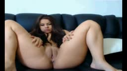 Latin Chick With Wide Pussy On Webcam