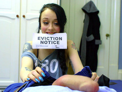 Teen Alessa Savage Sucks Her Landlords Cock To Pay The Rent