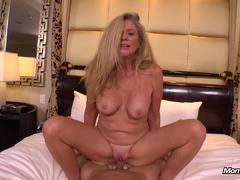 Blonde Cougar Fucked From Behind