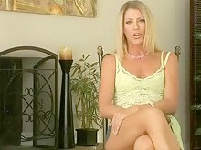 Hot Blonde Milf Gets Gangbanged